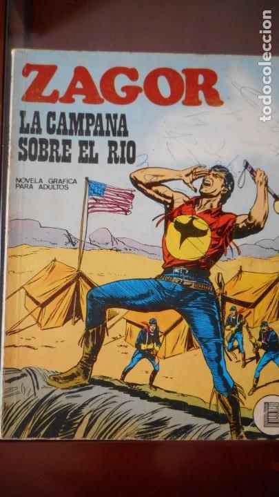 ZAGOR Nº 22 (Tebeos y Comics - Buru-Lan - Zagor)