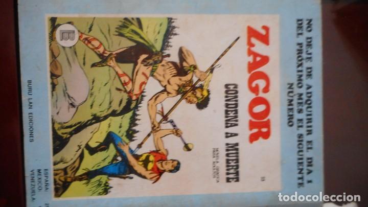 Cómics: ZAGOR Nº 22 - Foto 2 - 233447610