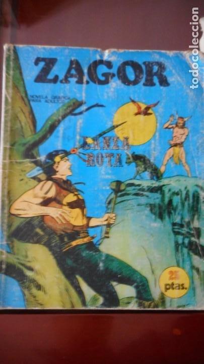 ZAGOR Nº 6 (Tebeos y Comics - Buru-Lan - Zagor)
