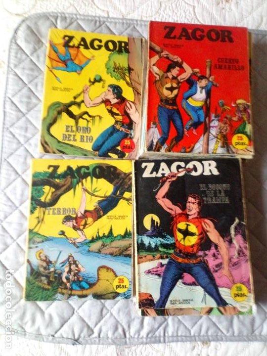 ZAGOR COLECCIÓN COMPLETA 76 NÚMEROS BURU-LAN (Tebeos y Comics - Buru-Lan - Zagor)