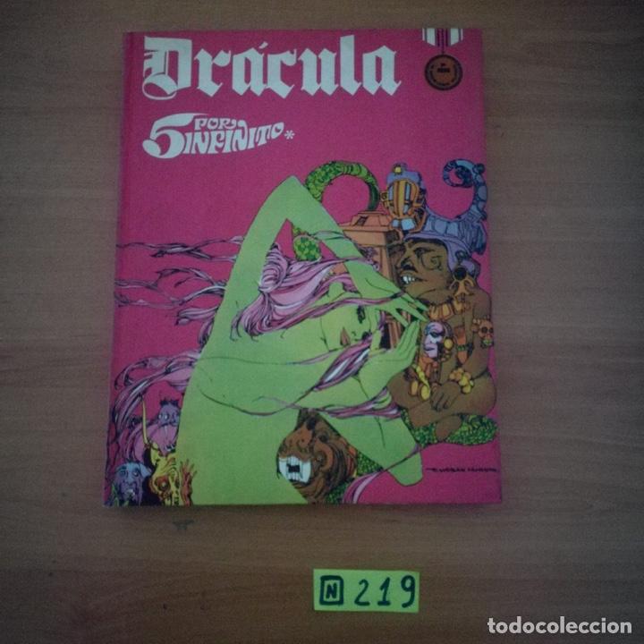 DRACULA TOMO Nº 3 - 5 POR INFINITO - ESTEBAN MAROTO - BURU LAN EDICIONES 1972 - 240 PAGINAS (Tebeos y Comics - Buru-Lan - Drácula)