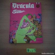 Cómics: DRACULA TOMO Nº 3 - 5 POR INFINITO - ESTEBAN MAROTO - BURU LAN EDICIONES 1972 - 240 PAGINAS. Lote 233834155