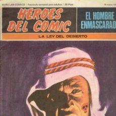 Cómics: 2 COMICS HEROES DEL COMIC EL HOMBRE ENMASCARADO N,7,8 BURU LAN EDICIONES 1972. Lote 233962725