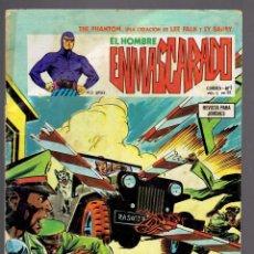 Cómics: 4 COMICS EL HOMBRE ENMASCARADO,COLOSOS DEL COMIC 42-ED.HISTORICA 46-VERTICE 51,54. Lote 233964260