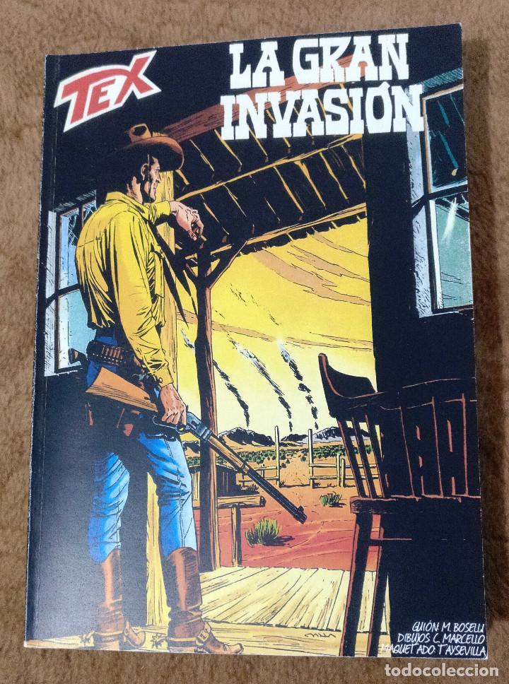 TEX LA GRAN INVASION (SERGIO BONELLI 2002) (Tebeos y Comics - Buru-Lan - Tex)