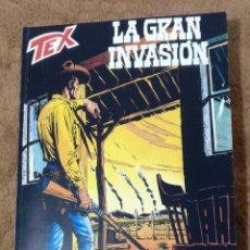 Cómics: TEX LA GRAN INVASION (SERGIO BONELLI 2002). Lote 234434875