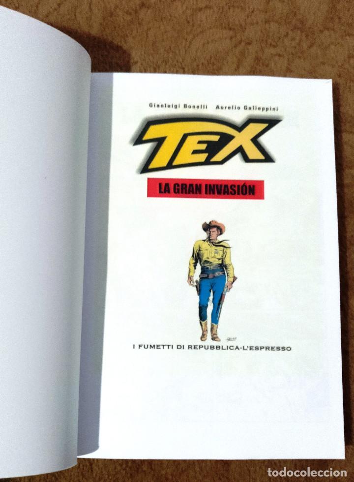 Cómics: TEX LA GRAN INVASION (Sergio Bonelli 2002) - Foto 2 - 234434875