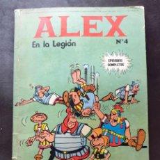 Cómics: ALEX EN LA LEGION Nº 4 EPISODIOS COMPLETOS - BURU LAN. Lote 234818915