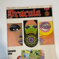 Cómics: DRÁCULA. SOMBRA VIVA. FASCÍCULO Nº 16. BURU LAN COMICS. 1972. Lote 235285600
