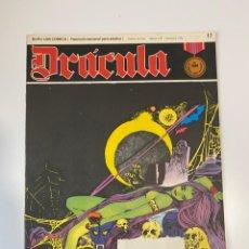 Cómics: DRÁCULA. LOS NO MUERTOS. FASCÍCULO Nº 17. BURU LAN COMICS. 1972. Lote 235285650