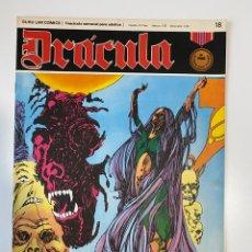 Cómics: DRÁCULA. DESDE LA TUMBA. FASCÍCULO Nº 18. BURU LAN COMICS. 1972. Lote 235285775