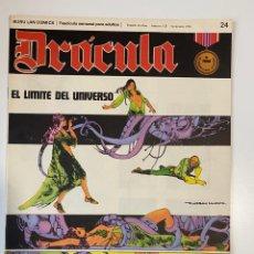 Cómics: DRÁCULA. EL LIMITE DEL UNIVERSO. FASCÍCULO Nº 24. BURU LAN COMICS. 1972. Lote 235286210