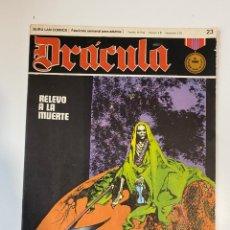 Cómics: DRÁCULA. RELEVO A LA MUERTE. FASCÍCULO Nº 23. BURU LAN COMICS. 1972. Lote 235286265