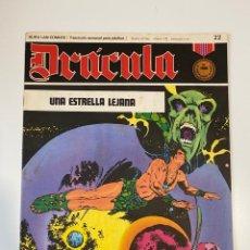 Cómics: DRÁCULA. UNA ESTRELLA LEJANA. FASCÍCULO Nº 22. BURU LAN COMICS. 1972. Lote 235286295