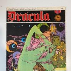 Cómics: DRÁCULA. PARAISO DORMIDO. FASCÍCULO Nº 19. BURU LAN COMICS. 1972. Lote 235286430