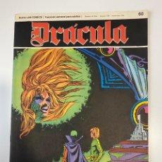 Comics: DRÁCULA. LA VICTORIA FINAL. FASCÍCULO Nº 60. BURU LAN COMICS. 1973. Lote 235286610