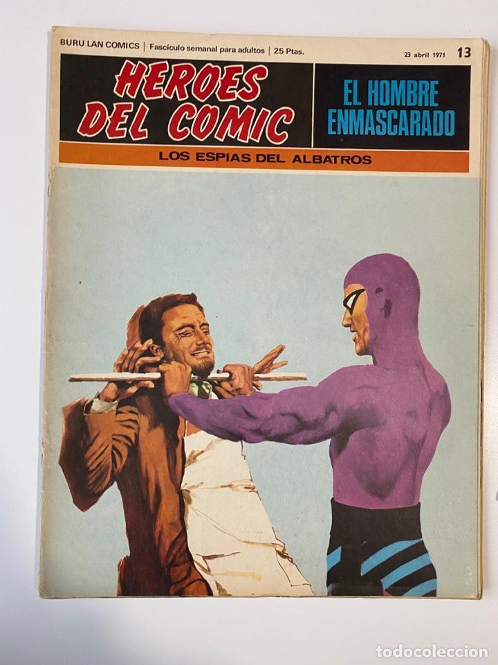 EL HOMBRE ENMASCARADO.BURU LAN COMICS.SOLO LAS PORTADAS.TOMO II.FASCÍCULOS DEL Nº 13 AL 24.VER FOTOS (Tebeos y Comics - Buru-Lan - Hombre Enmascarado)