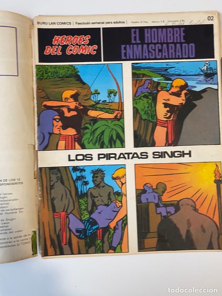 Cómics: EL HOMBRE ENMASCARADO.BURU LAN COMICS.SOLO LAS PORTADAS.TOMO 0.FASCÍCULOS DEL Nº 01 AL 012.VER FOTOS - Foto 3 - 235289855