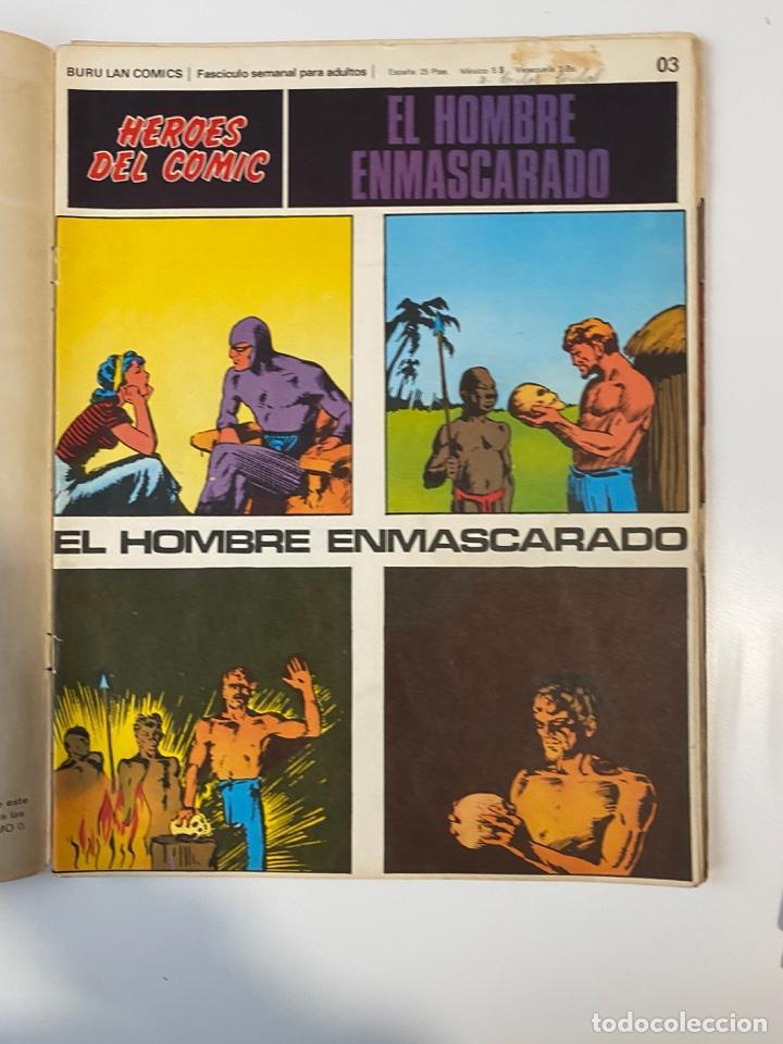 Cómics: EL HOMBRE ENMASCARADO.BURU LAN COMICS.SOLO LAS PORTADAS.TOMO 0.FASCÍCULOS DEL Nº 01 AL 012.VER FOTOS - Foto 4 - 235289855