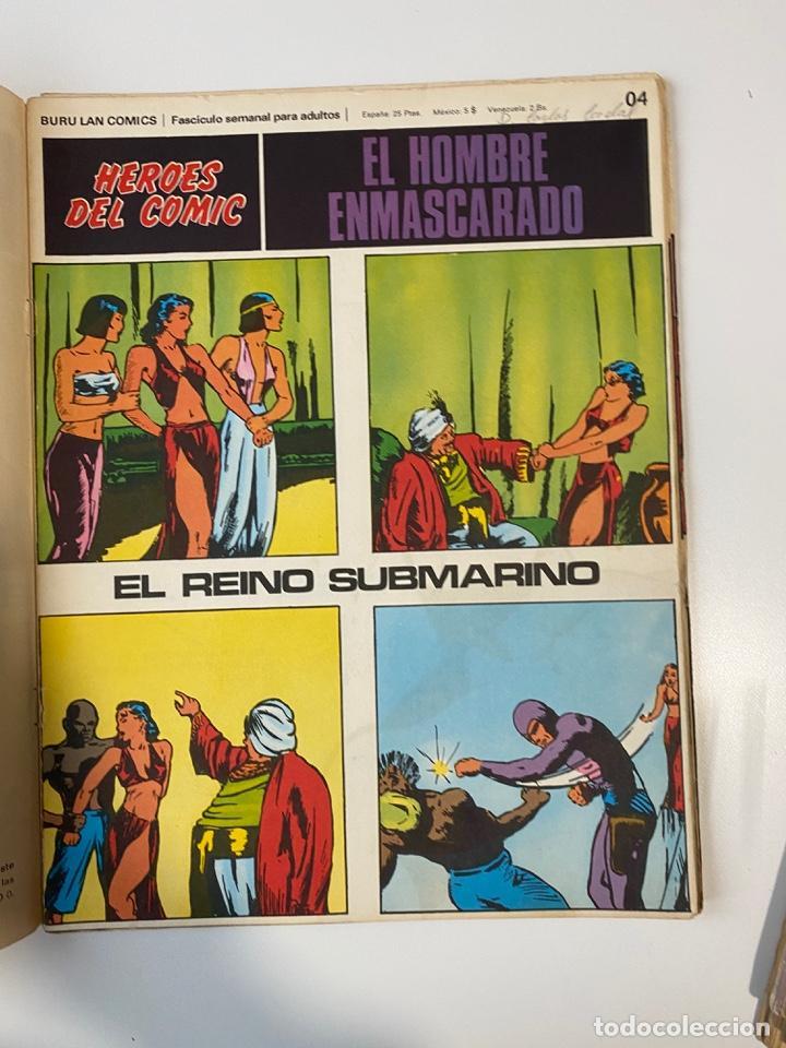 Cómics: EL HOMBRE ENMASCARADO.BURU LAN COMICS.SOLO LAS PORTADAS.TOMO 0.FASCÍCULOS DEL Nº 01 AL 012.VER FOTOS - Foto 5 - 235289855