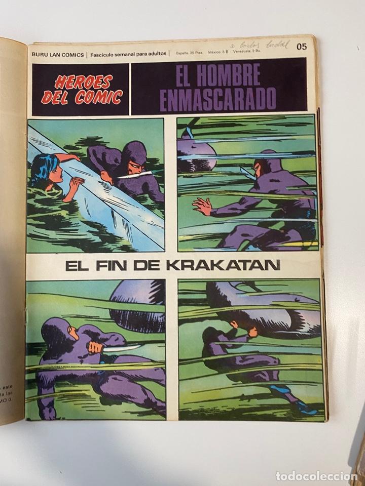 Cómics: EL HOMBRE ENMASCARADO.BURU LAN COMICS.SOLO LAS PORTADAS.TOMO 0.FASCÍCULOS DEL Nº 01 AL 012.VER FOTOS - Foto 6 - 235289855