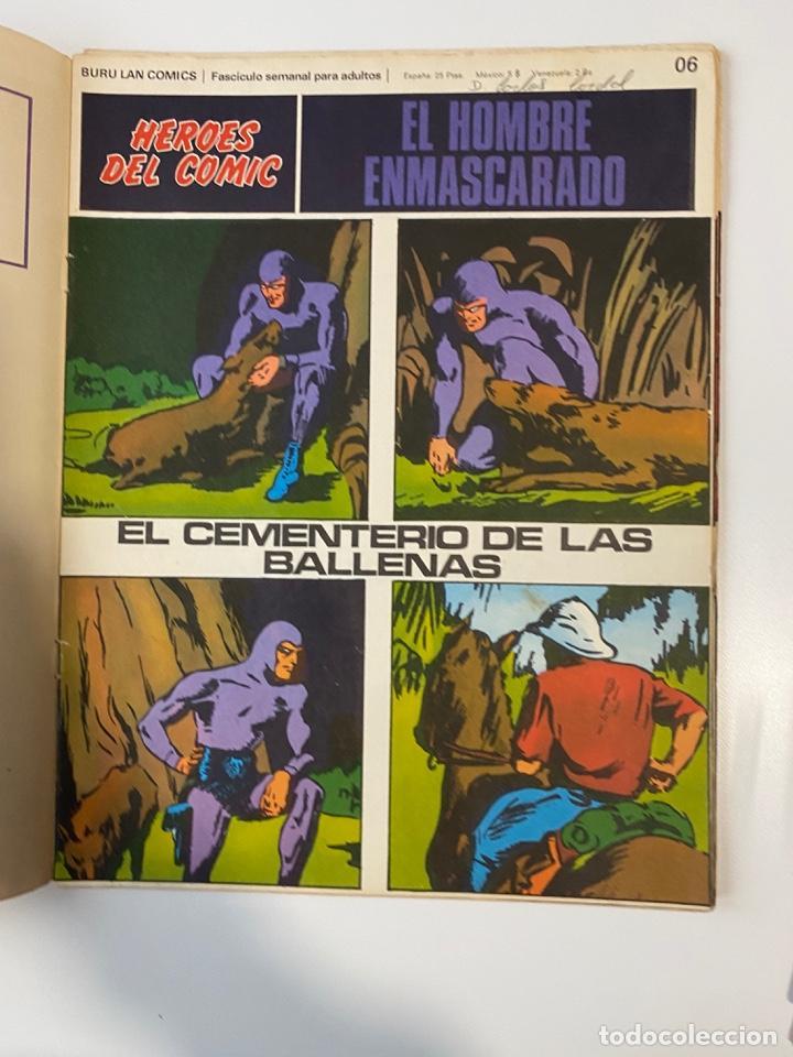 Cómics: EL HOMBRE ENMASCARADO.BURU LAN COMICS.SOLO LAS PORTADAS.TOMO 0.FASCÍCULOS DEL Nº 01 AL 012.VER FOTOS - Foto 7 - 235289855