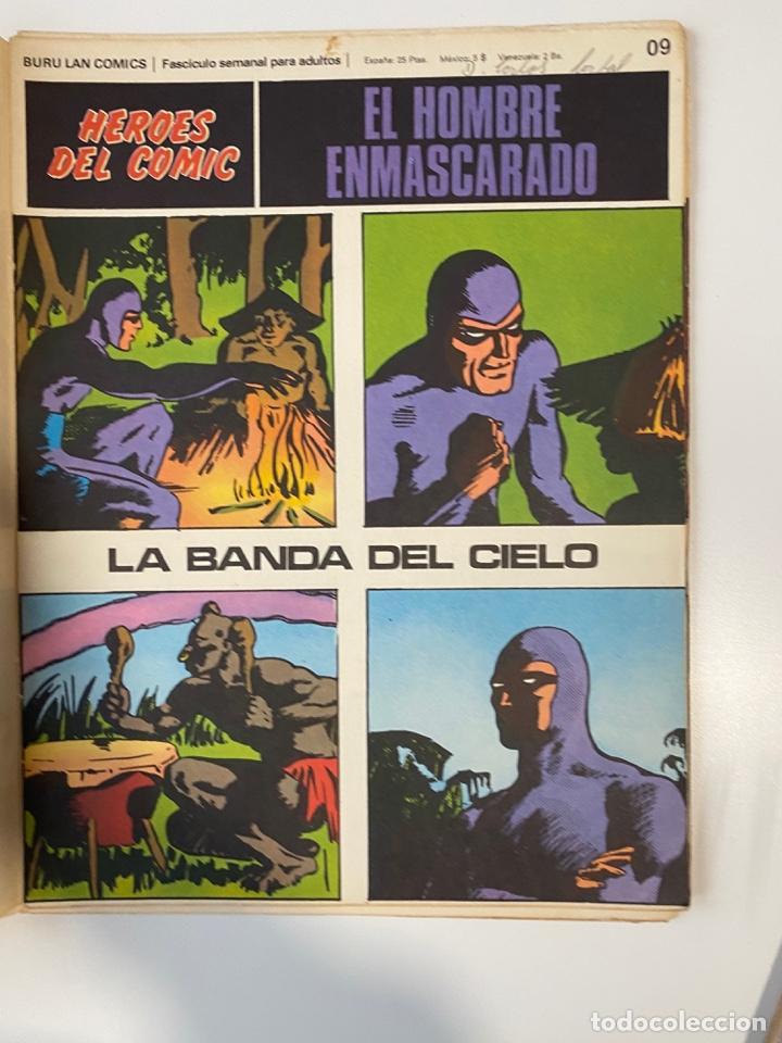 Cómics: EL HOMBRE ENMASCARADO.BURU LAN COMICS.SOLO LAS PORTADAS.TOMO 0.FASCÍCULOS DEL Nº 01 AL 012.VER FOTOS - Foto 10 - 235289855