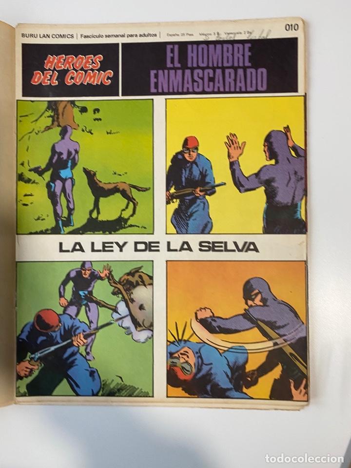 Cómics: EL HOMBRE ENMASCARADO.BURU LAN COMICS.SOLO LAS PORTADAS.TOMO 0.FASCÍCULOS DEL Nº 01 AL 012.VER FOTOS - Foto 11 - 235289855