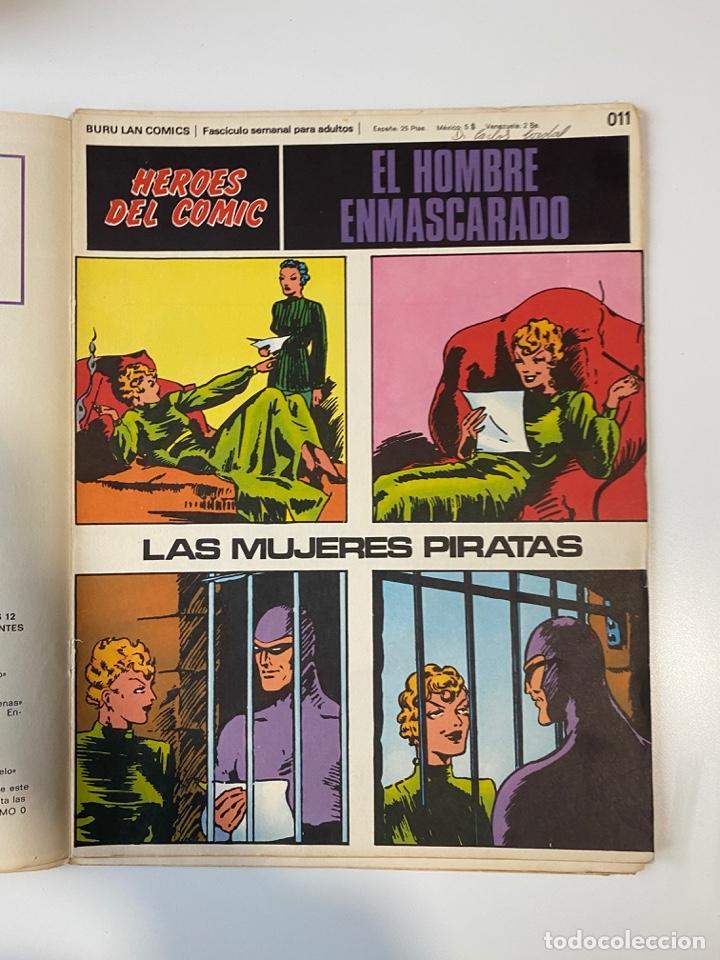 Cómics: EL HOMBRE ENMASCARADO.BURU LAN COMICS.SOLO LAS PORTADAS.TOMO 0.FASCÍCULOS DEL Nº 01 AL 012.VER FOTOS - Foto 12 - 235289855