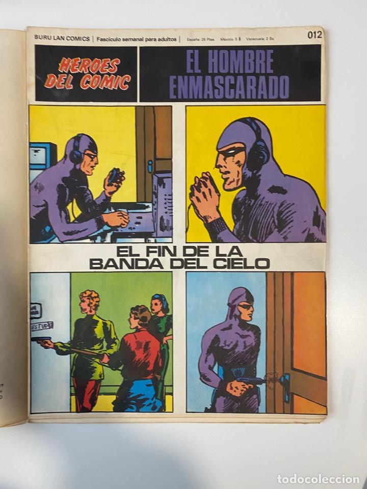 Cómics: EL HOMBRE ENMASCARADO.BURU LAN COMICS.SOLO LAS PORTADAS.TOMO 0.FASCÍCULOS DEL Nº 01 AL 012.VER FOTOS - Foto 13 - 235289855