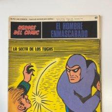 Cómics: EL HOMBRE ENMASCARADO.BURU LAN COMICS.SOLO LAS PORTADAS.TOMO 6.FASCÍCULOS DEL Nº 62 AL 72.VER FOTOS. Lote 235290170