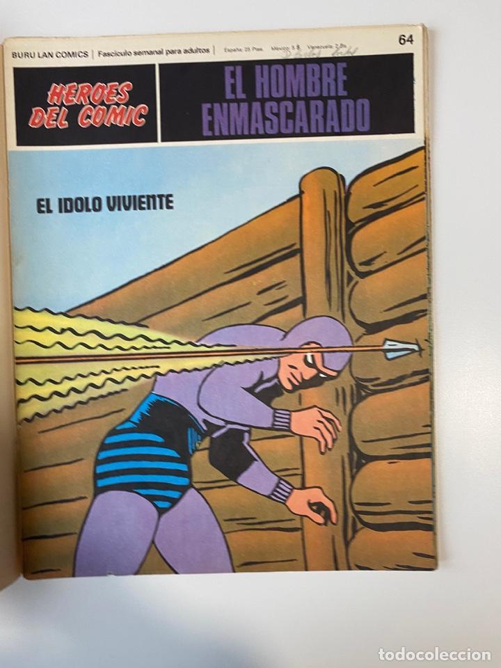 Cómics: EL HOMBRE ENMASCARADO.BURU LAN COMICS.SOLO LAS PORTADAS.TOMO 6.FASCÍCULOS DEL Nº 62 AL 72.VER FOTOS - Foto 5 - 235290170