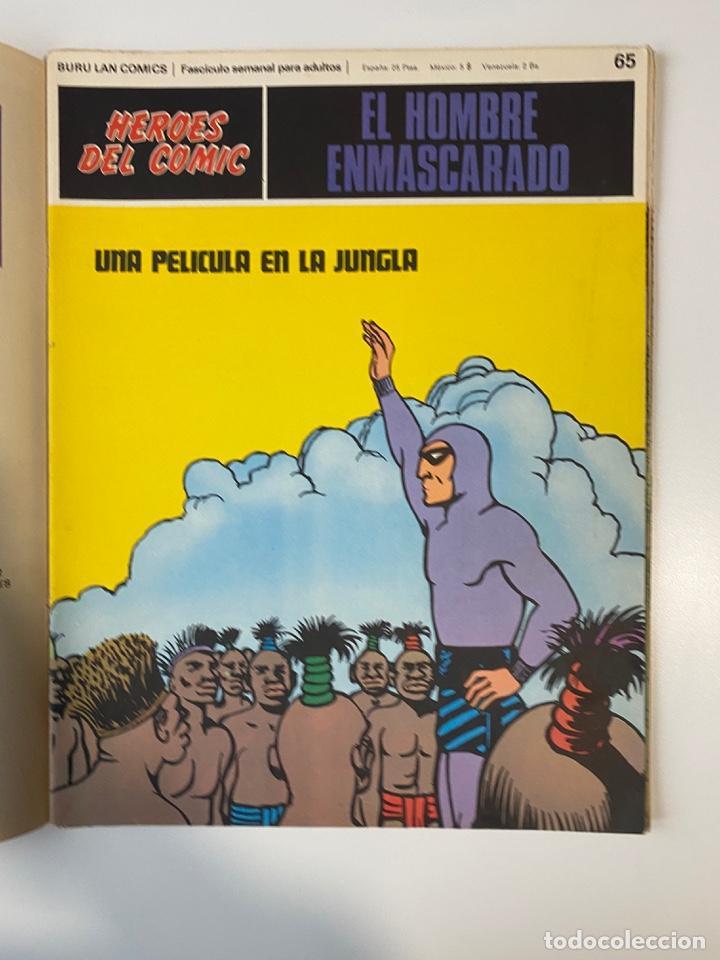 Cómics: EL HOMBRE ENMASCARADO.BURU LAN COMICS.SOLO LAS PORTADAS.TOMO 6.FASCÍCULOS DEL Nº 62 AL 72.VER FOTOS - Foto 6 - 235290170