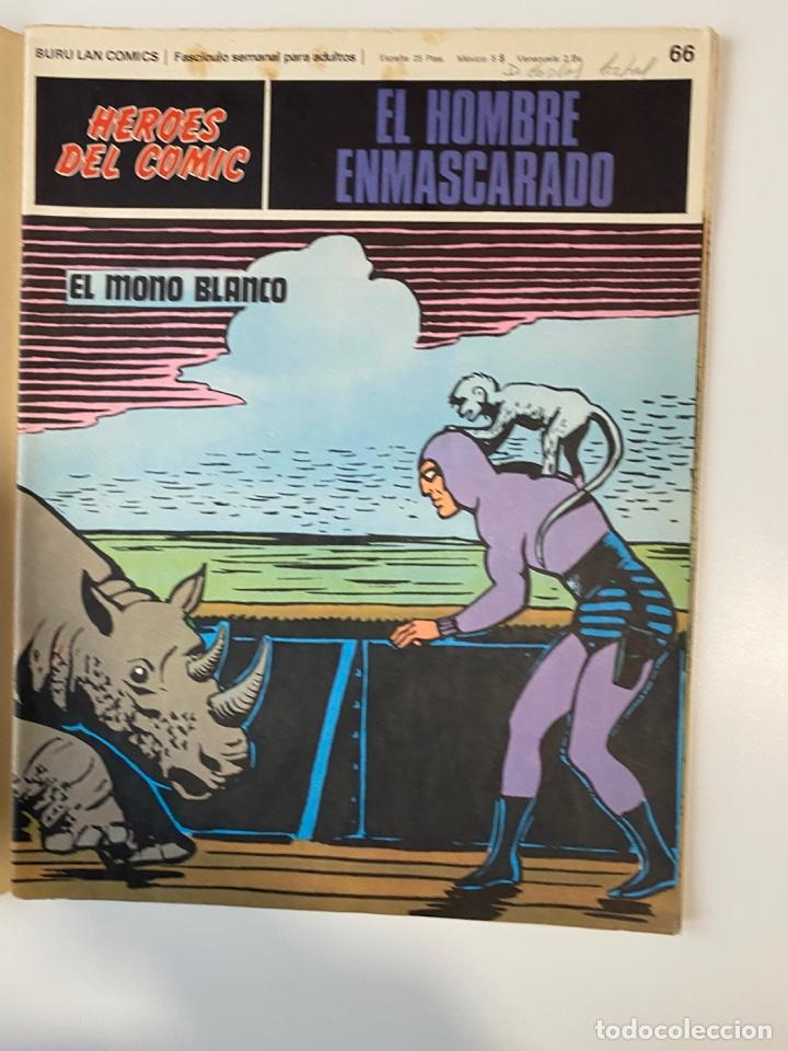 Cómics: EL HOMBRE ENMASCARADO.BURU LAN COMICS.SOLO LAS PORTADAS.TOMO 6.FASCÍCULOS DEL Nº 62 AL 72.VER FOTOS - Foto 7 - 235290170