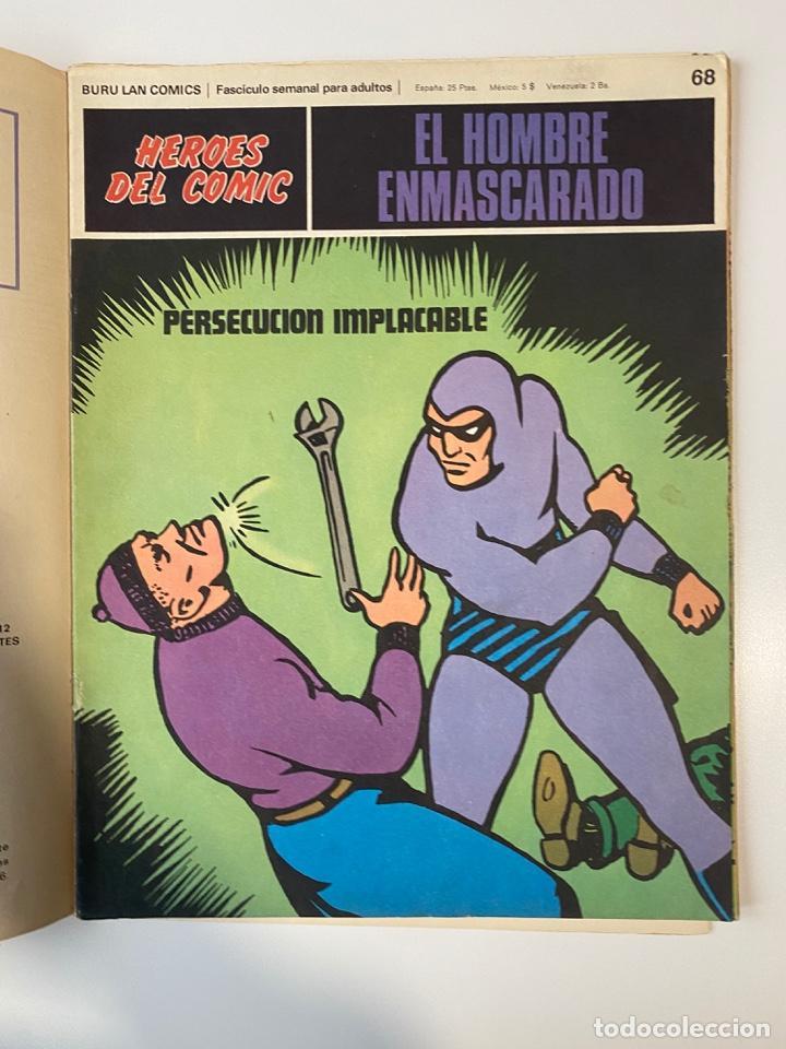 Cómics: EL HOMBRE ENMASCARADO.BURU LAN COMICS.SOLO LAS PORTADAS.TOMO 6.FASCÍCULOS DEL Nº 62 AL 72.VER FOTOS - Foto 9 - 235290170
