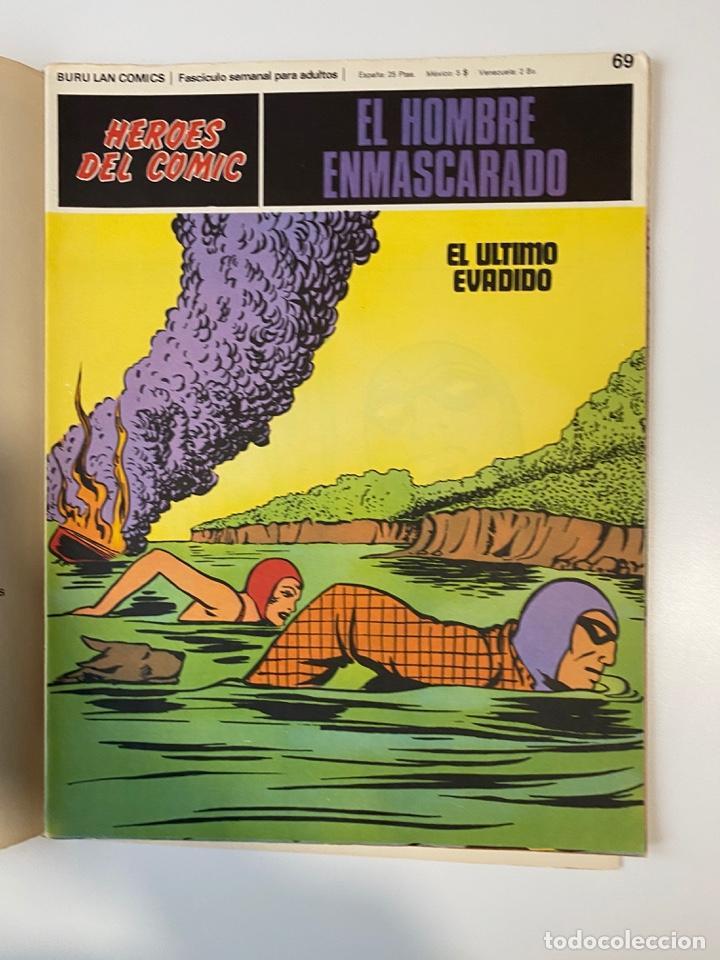 Cómics: EL HOMBRE ENMASCARADO.BURU LAN COMICS.SOLO LAS PORTADAS.TOMO 6.FASCÍCULOS DEL Nº 62 AL 72.VER FOTOS - Foto 10 - 235290170