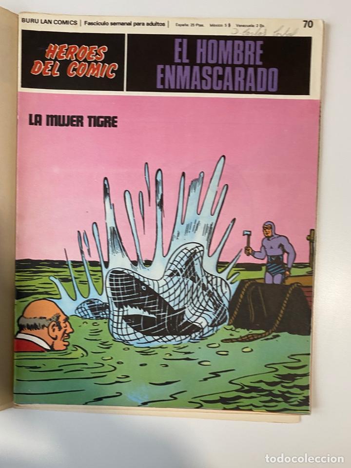 Cómics: EL HOMBRE ENMASCARADO.BURU LAN COMICS.SOLO LAS PORTADAS.TOMO 6.FASCÍCULOS DEL Nº 62 AL 72.VER FOTOS - Foto 11 - 235290170