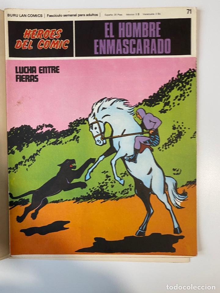Cómics: EL HOMBRE ENMASCARADO.BURU LAN COMICS.SOLO LAS PORTADAS.TOMO 6.FASCÍCULOS DEL Nº 62 AL 72.VER FOTOS - Foto 12 - 235290170
