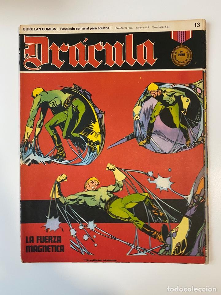 DRÁCULA. BURU LAN COMICS. SOLO LAS PORTADAS. TOMO 3. FASCÍCULOS DEL Nº 13 AL 24. VER FOTOS (Tebeos y Comics - Buru-Lan - Drácula)