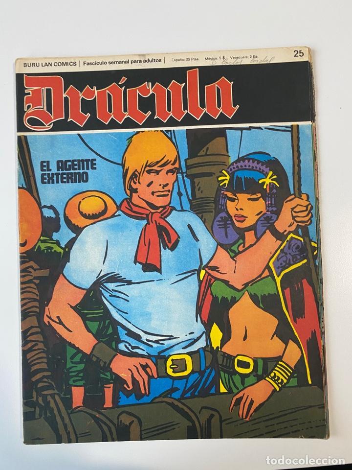 DRÁCULA. BURU LAN COMICS. SOLO LAS PORTADAS. TOMO 4. FASCÍCULOS DEL Nº 24 AL 36. VER FOTOS (Tebeos y Comics - Buru-Lan - Drácula)