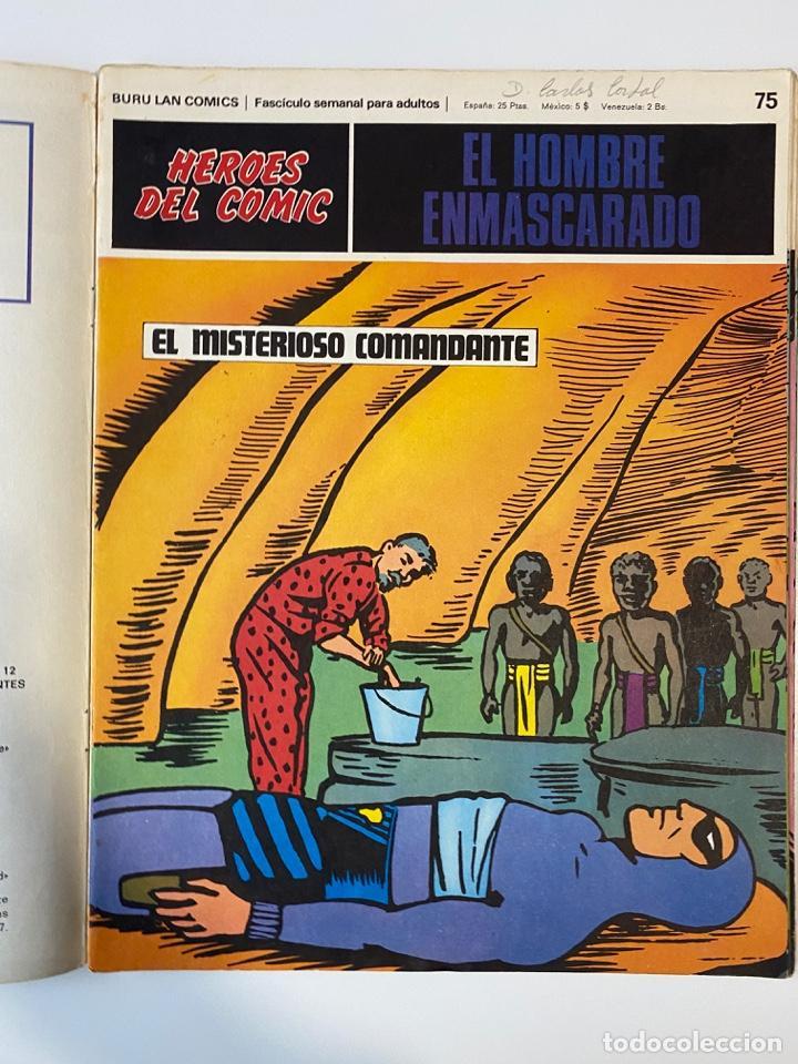Cómics: EL HOMBRE ENMASCARADO.BURU LAN COMICS.SOLO LAS PORTADAS.TOMO 7.FASCÍCULOS DEL Nº 73 AL 84. VER FOTOS - Foto 4 - 235291515