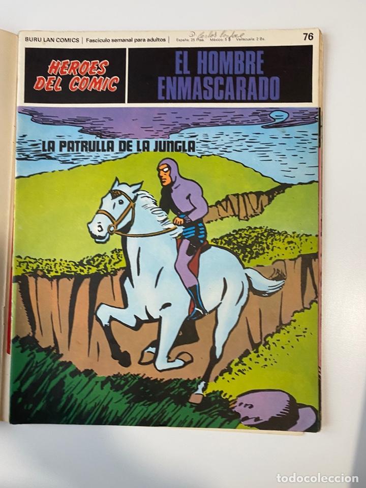 Cómics: EL HOMBRE ENMASCARADO.BURU LAN COMICS.SOLO LAS PORTADAS.TOMO 7.FASCÍCULOS DEL Nº 73 AL 84. VER FOTOS - Foto 5 - 235291515