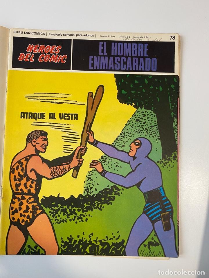 Cómics: EL HOMBRE ENMASCARADO.BURU LAN COMICS.SOLO LAS PORTADAS.TOMO 7.FASCÍCULOS DEL Nº 73 AL 84. VER FOTOS - Foto 7 - 235291515