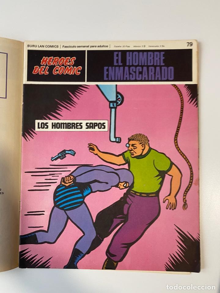 Cómics: EL HOMBRE ENMASCARADO.BURU LAN COMICS.SOLO LAS PORTADAS.TOMO 7.FASCÍCULOS DEL Nº 73 AL 84. VER FOTOS - Foto 8 - 235291515