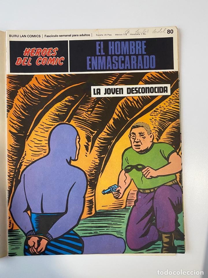 Cómics: EL HOMBRE ENMASCARADO.BURU LAN COMICS.SOLO LAS PORTADAS.TOMO 7.FASCÍCULOS DEL Nº 73 AL 84. VER FOTOS - Foto 9 - 235291515