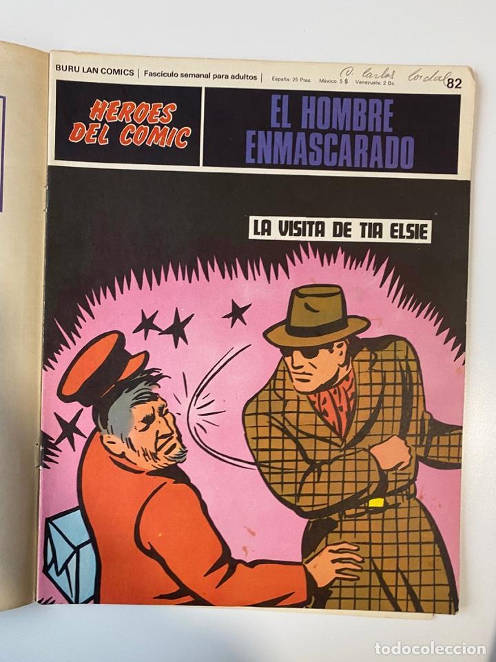 Cómics: EL HOMBRE ENMASCARADO.BURU LAN COMICS.SOLO LAS PORTADAS.TOMO 7.FASCÍCULOS DEL Nº 73 AL 84. VER FOTOS - Foto 11 - 235291515