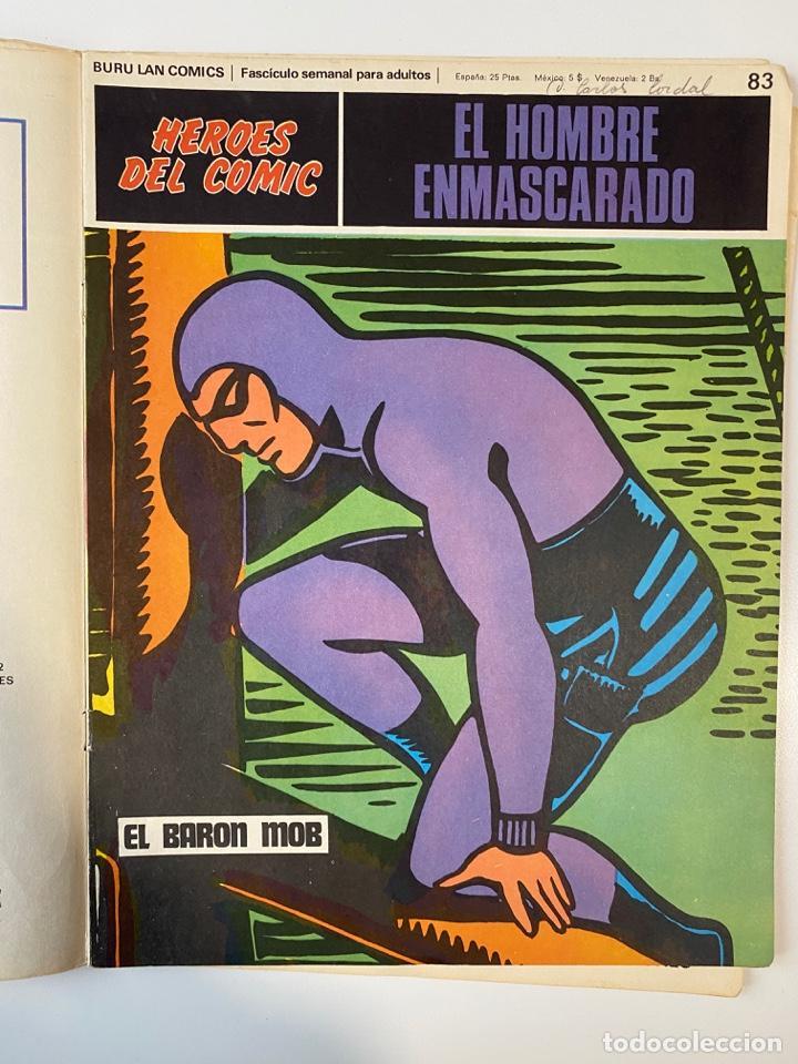 Cómics: EL HOMBRE ENMASCARADO.BURU LAN COMICS.SOLO LAS PORTADAS.TOMO 7.FASCÍCULOS DEL Nº 73 AL 84. VER FOTOS - Foto 12 - 235291515