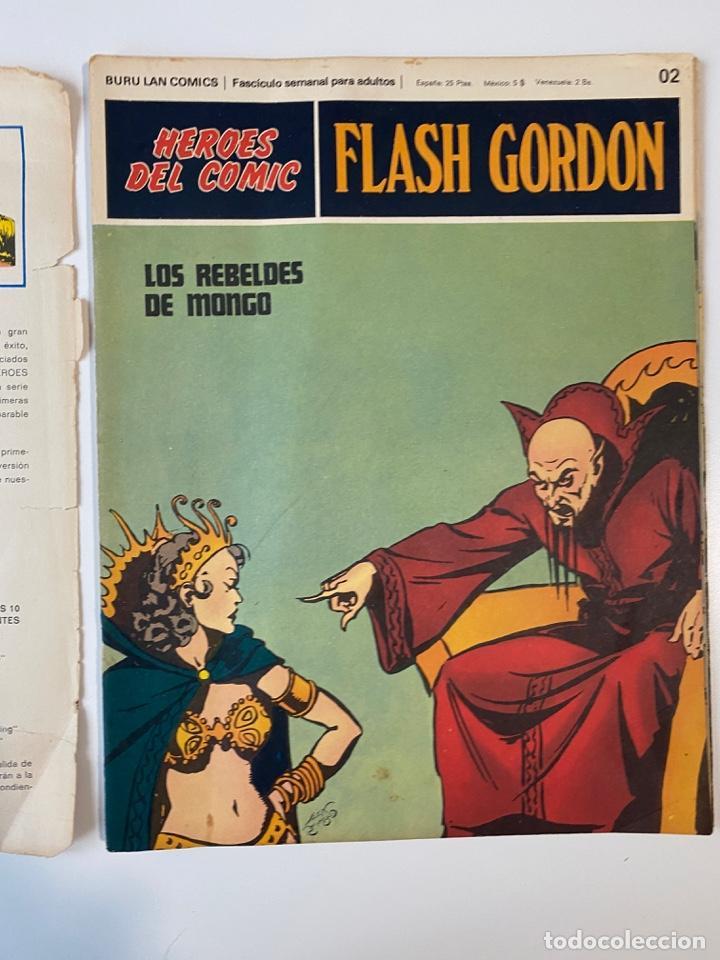 Cómics: FLASH GORDON. BURU LAN COMICS. SOLO LAS PORTADAS. TOMO 1. FASCÍCULOS DEL Nº 01 AL 010. VER FOTOS - Foto 3 - 273434343