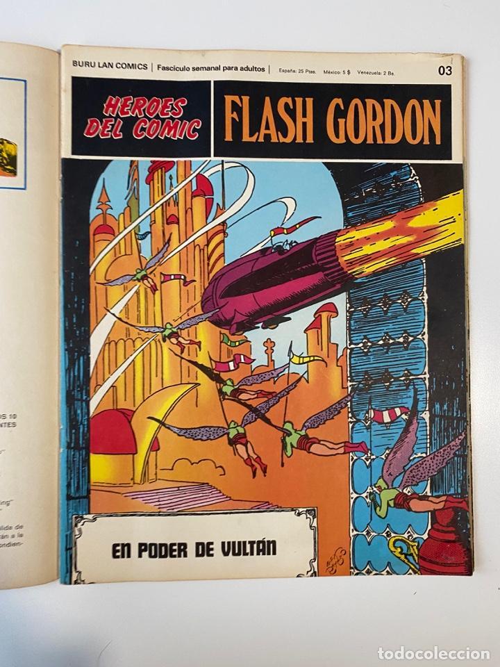 Cómics: FLASH GORDON. BURU LAN COMICS. SOLO LAS PORTADAS. TOMO 1. FASCÍCULOS DEL Nº 01 AL 010. VER FOTOS - Foto 4 - 273434343