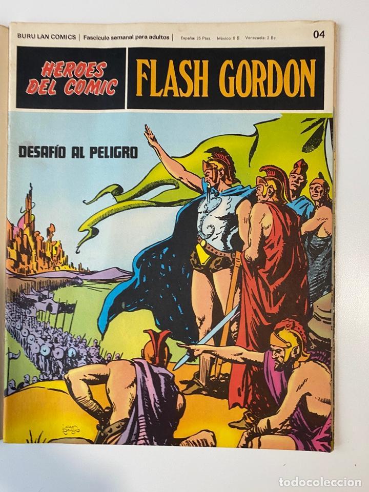 Cómics: FLASH GORDON. BURU LAN COMICS. SOLO LAS PORTADAS. TOMO 1. FASCÍCULOS DEL Nº 01 AL 010. VER FOTOS - Foto 5 - 273434343
